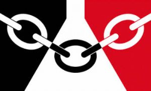 Black Country (Midlands) Large County Flag - 5' x 3'.